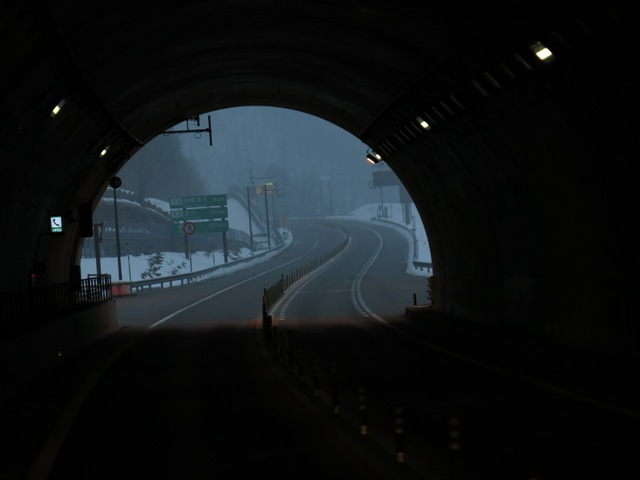 There is light at the end of the tunnel for any road trips...