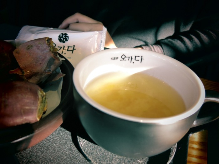 Tea commonly found in Seoul