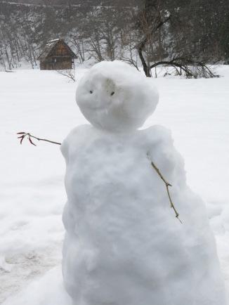 snowman in japan