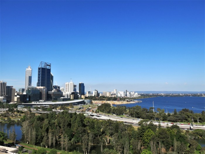 View of Perth