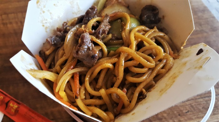 Chow Mein Cube