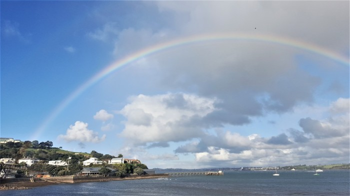 Rainbow in Devonport