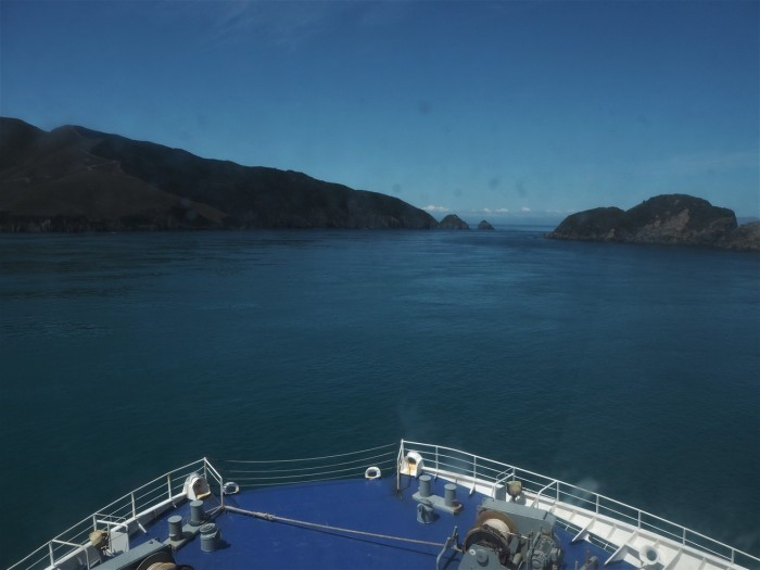 Ferry to Wellington from Picton